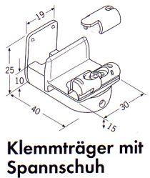 Beliebt Plissees Befestigung mit Klemmträgern ohne zu bohren | plissee1fach.de PF52
