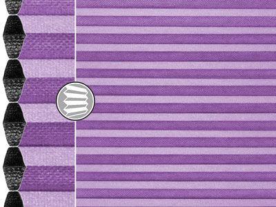 lampenfieber violett ifasol plissee 3340. Black Bedroom Furniture Sets. Home Design Ideas