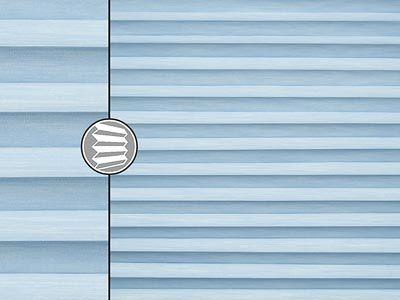 pablo perlex blau teba plissee 5433. Black Bedroom Furniture Sets. Home Design Ideas
